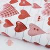 Бумага упаковочная глянцевая Сердечки хенд-мейд 70 х 100 см