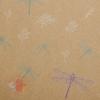 Бумага упаковочная крафт Стрекозки  50 х 70 см