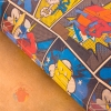 Бумага упаковочная крафтовая Комиксы 50 х 70 см