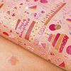 Бумага упаковочная крафтовая Праздничный торт, 50 × 70 см