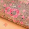 Бумага упаковочная крафтовая Розы 50 х 70 см