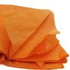 Бумага упаковочная тишью Оранжевая, листы 50*50 см  (10 шт.)