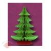 Бумажные новогодние украшения Елка 41 см