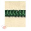 Бумажные  украшения Гирлянда-декор Объемная. 3,6 м Зеленый