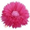 Бумажный цветок 50 / 23 см амарантовый розовый