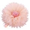 Бумажный цветок 50 / 23 см персиковый розовый