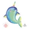 ФИГУРА/P35 Дельфин с радужным рогом