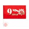Флаг 9 Мая, С Днем Победы, Красный, 15*20 см, 1 шт.