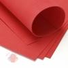 Фоамиран 60 х 70 см 0,8 мм 1 лист. красный