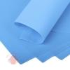 Фоамиран 60 х 70 см 0,8 мм 1 лист. синий