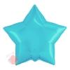 Фольгированный шар (21''/53 см) Звезда, Нежно-голубой