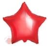 Фольгированный шар Звезда, Красный 18/46 см