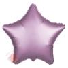 Фольгированный шар Звезда, Розовый, Сатин 18/46 см