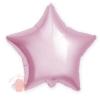 Фольгированный шар Звезда, Светло-розовый 18/46 см