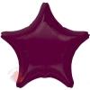 Фольгированный шар Звезда Ягодный / Berry Decorator Star S15