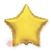 Фольгированный шар Звезда, Золото 18/46 см