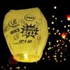 Фонарик желаний «Ты лучше всех», форма купол, жёлтый