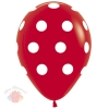 Большие кружки, Красный Пастель, 5 ст. Sempertex (12 шт.)
