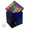 Коробка Торт и шары С днем рождения