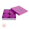 Набор коробок 5 в 1 Полосатый рейс фиолетовый