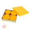 Набор коробок 5 в 1 Полосатый рейс оранжевый