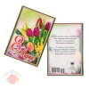 Открытка карточка 8 марта тюльпаны 1053954