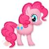 "Пони Розовая MLP Pinkie Pie 40""/102 см"