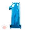 ЦИФРА 1 Blue 86 см.