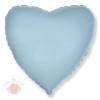 И 18  Сердце Светло-голубой Heart Baby blue