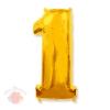 И 40 Цифра 1 золото 102 см.