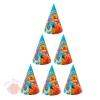 Колпак бумажный С днем рождения русалочка, (набор 6 шт) 1033798