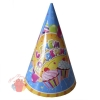 Колпаки С Днем Рождения Сладости набор 6 шт