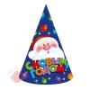 Колпаки С Новым Годом Дед Мороз, 6 шт