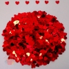 Конфетти Сердца Красные 6 мм