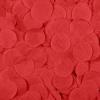 Конфетти тишью, Круги, Красный, 2,5 см, 50 гр
