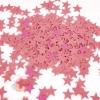 Конфетти Звезды, Розовые, 17 гр