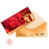 Конверт для денег «Поздравляем!» розы, 16.5 × 8 см