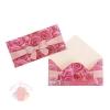 Конверт для денег Поздравляю розовый бант