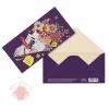 Конверт для денег Поздравляю цветы в газете 16,5*8 см