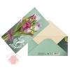 Конверт для денег С 8 Марта, тюльпаны, 16,5 × 8 см