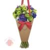 Конверт– конус для цветов Для Тебя, 25 х 26,5 см