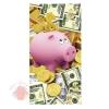 Конверты для денег, Поросенок-копилка (доллары), 10 шт