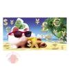 Конверты для денег, Поросенок-копилка (пляж), 10 шт