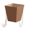 Коробка для цветов Крафт 5*22*25 см