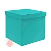 Коробка для воздушных шаров Тиффани, 60*60*60 см, 1 шт