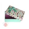 Коробка Комплимент Голубой прямоугольник 15,5*9*6 см