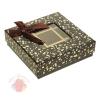 Коробка подарочная, 13,5 см × 13,5 см × 4 см Коричневый