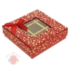Коробка подарочная, 13,5 см × 13,5 см × 4 см