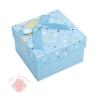 Коробка подарочная 9 х 9 х 6 см Голубой