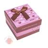 Коробка подарочная 9 х 9 х 6 см Розовый